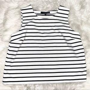 Amanda + Chelsea striped top sz XL